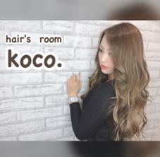 koco. hair'sroom所属のkoco.hair'sroom