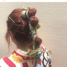 HairHealingWish所属のなかじまひな子