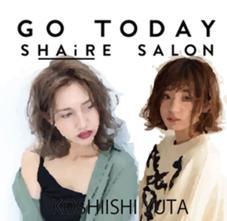 GO TODAY SHAiRE SALON所属の輿石裕太