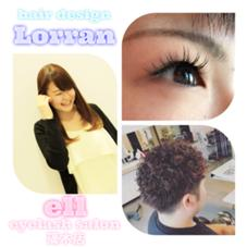 hair design Lorran,ell eyelash salon篠木店所属の今村麻衣
