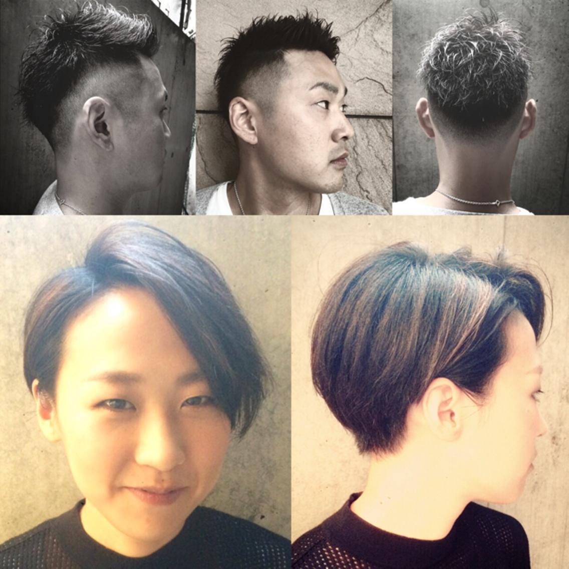 ショートヘア、刈り上げスタイルに自信あります♪  全メニュー30%割引させていただきます♪