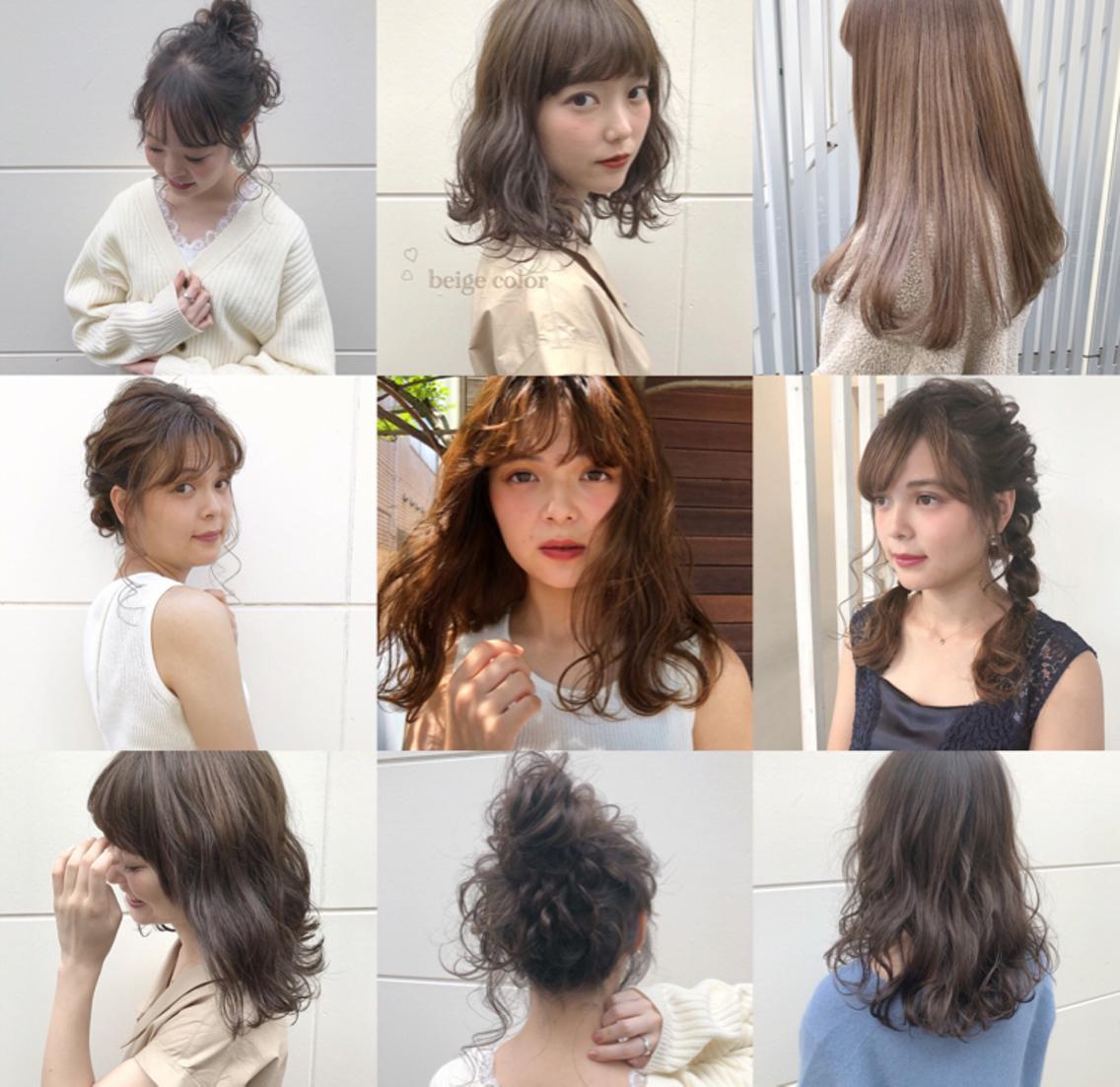 ❤当日OK❤大人気外国人風イルミナカラー導入❤ダメージを最小限に抑え、一人ひとりの髪質に合わせてヘアスタイルを作ります♡カジュアル~ガーリースタイルが好きです♡