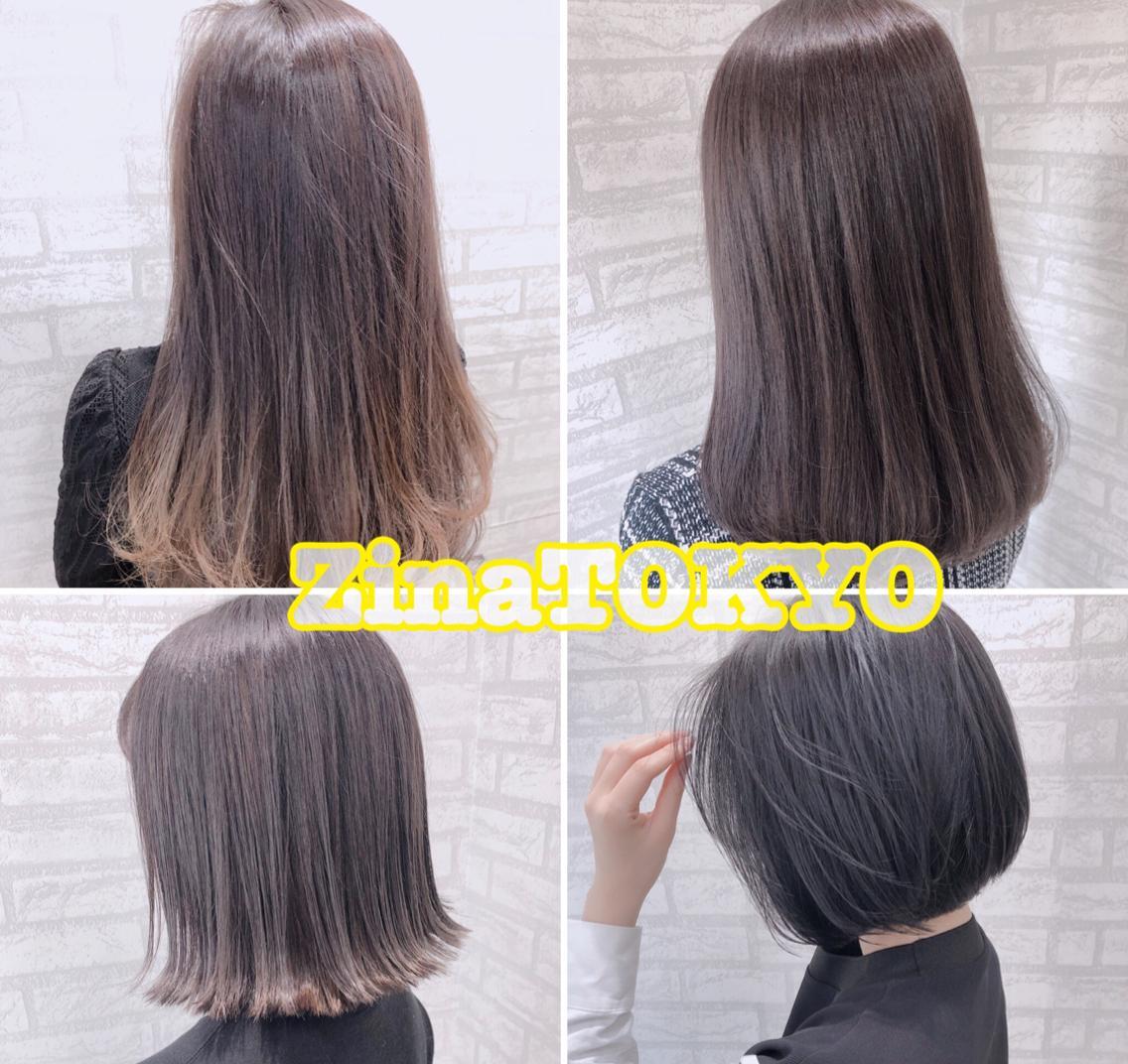 DAMIAオリジナルトリートメント配合カラー☆低アルカリ、低ダメージカラーで髪を痛ませません。