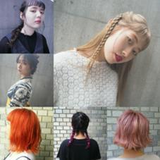 hair studio MENOS所属のハマダサエ