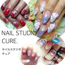 NAIL STUDIO   CURE.   ネイルスタジオ キュア所属のNAILSTUDIOCURE.