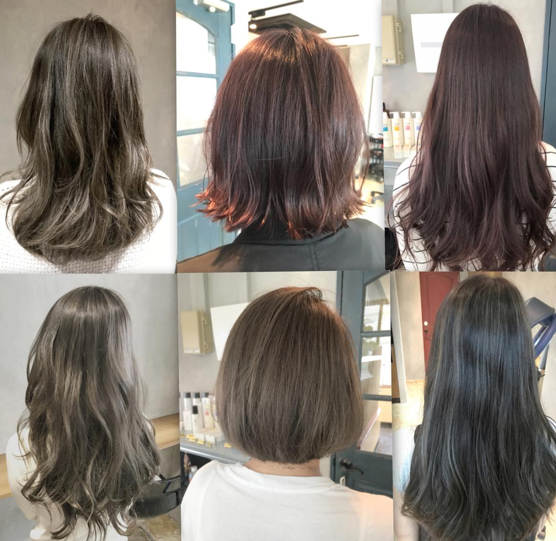 ⭐️貴方だけの髪色へ⭐️当日予約OK✨今月限定ミニモ特別価格⭕️〜外国人風・透明感・3Dカラー〜