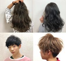 HAIR & MAKE  FLAP所属の山村昌大