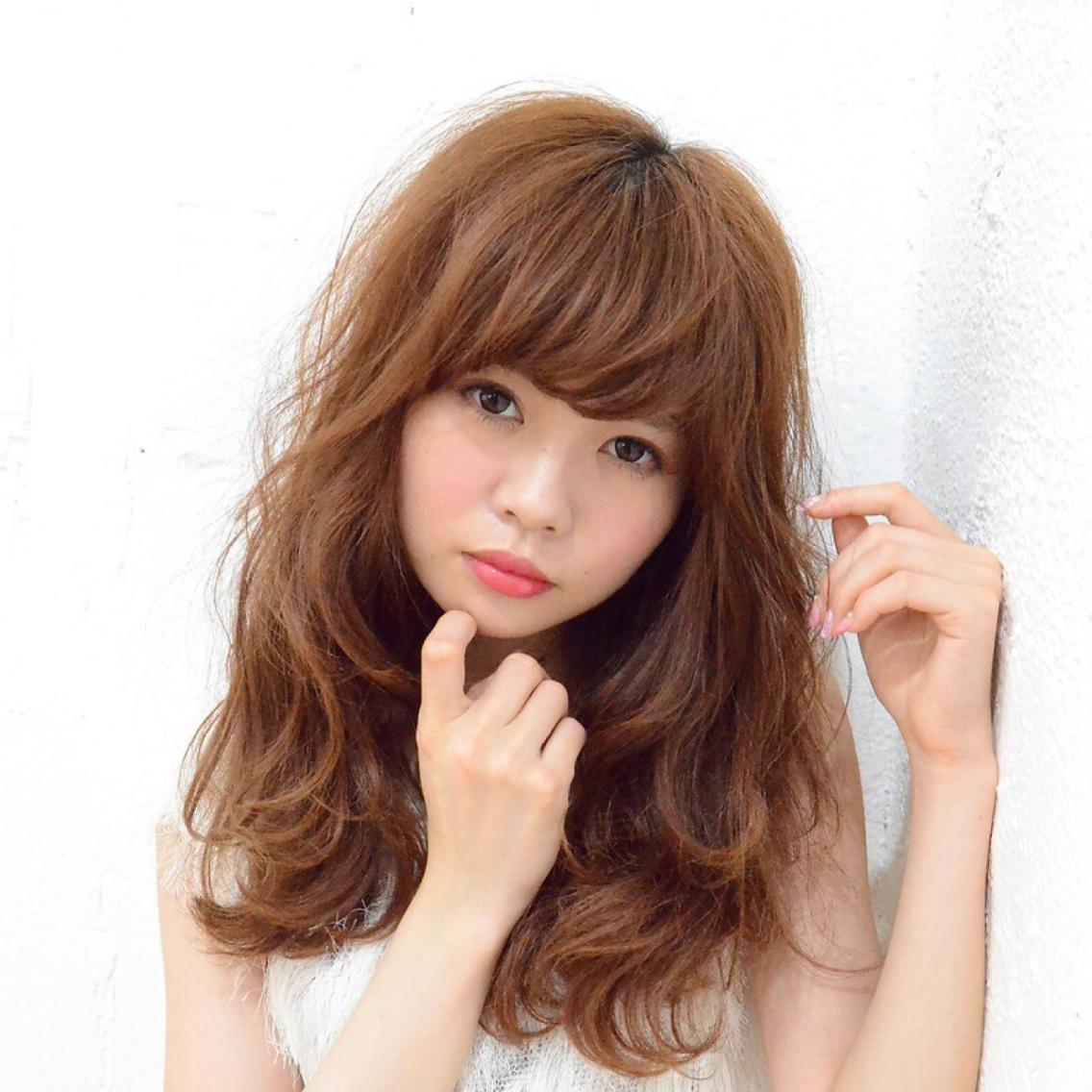 (JR松井山手駅徒歩5分 駅近 ) カットモデルさん、外国人風カラー、スタイルパーマ