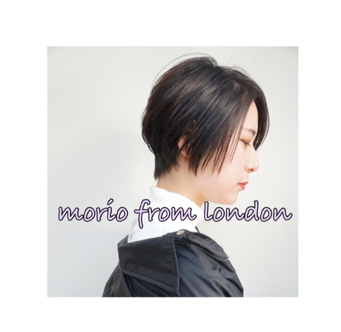 ‼️勉強会モデル募集‼️⭐︎MORIO FROM LONDON ⭐︎〔モリオ フロム ロンドン〕鹿倉由貴