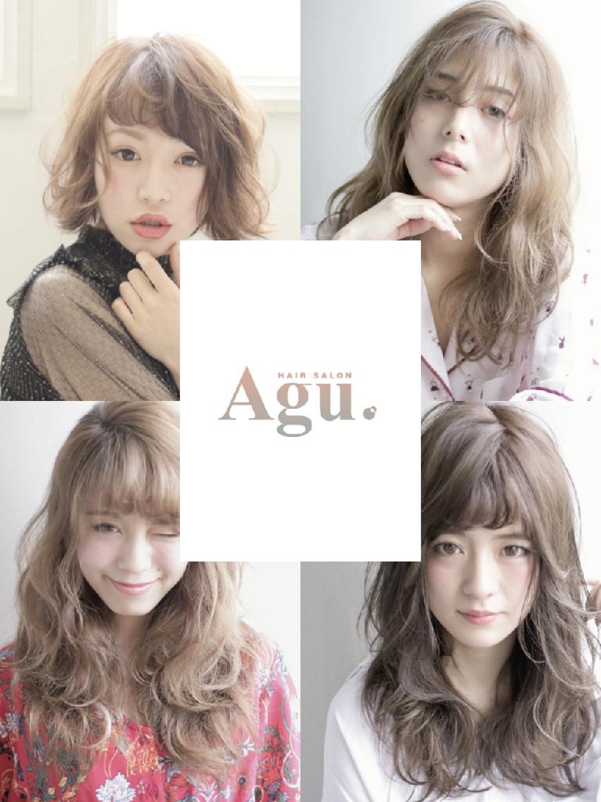 《Agu hair  天満橋》Agu 260店舗記念特別割引 ‼  カット+リタッチカラー¥2900等