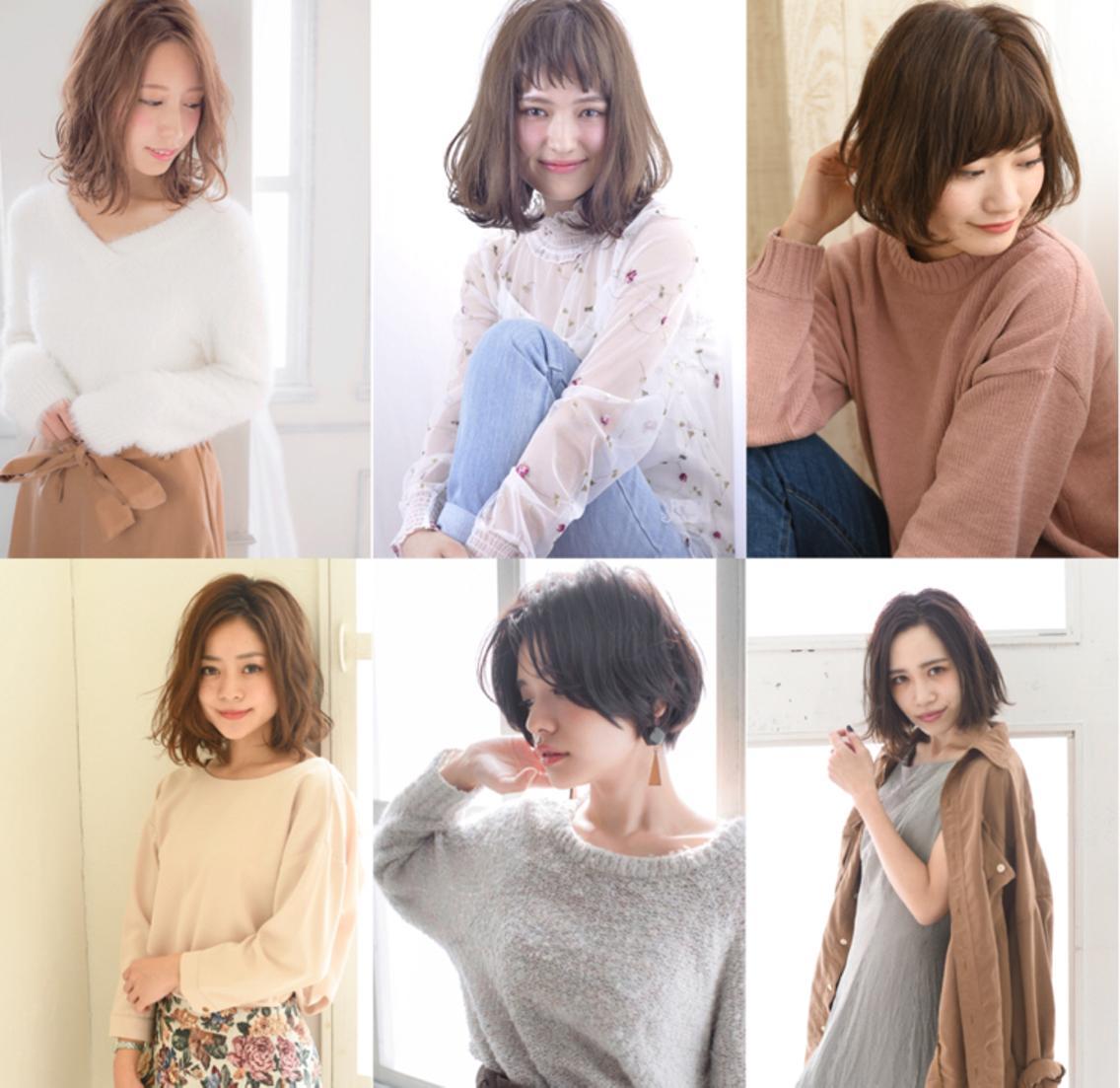 9月ショート〜ミディアム 撮影モデル募集☆