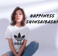 HAPPINESS心斎橋店所属の田中春奈
