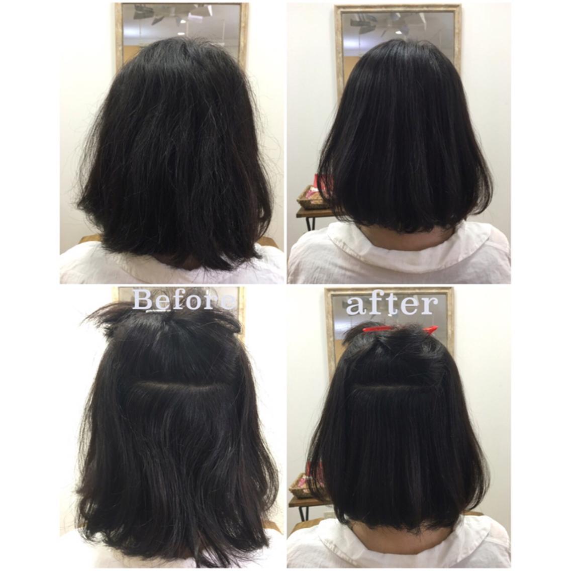 【日本で唯一のアイニーの髪質改善】髪質改善ヘアエステ・デザインする縮毛矯正¥21000→¥21000税込