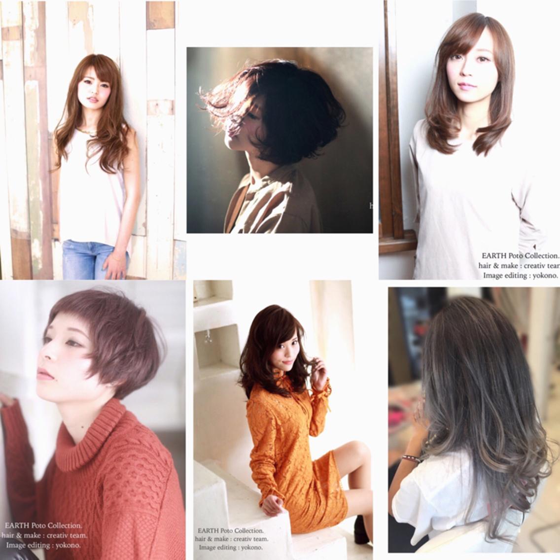 【minimo限定】EARTH 新長田店  店長おすすめクーポン❗️外国人風カラーやトレンドカラーが大人気‼️