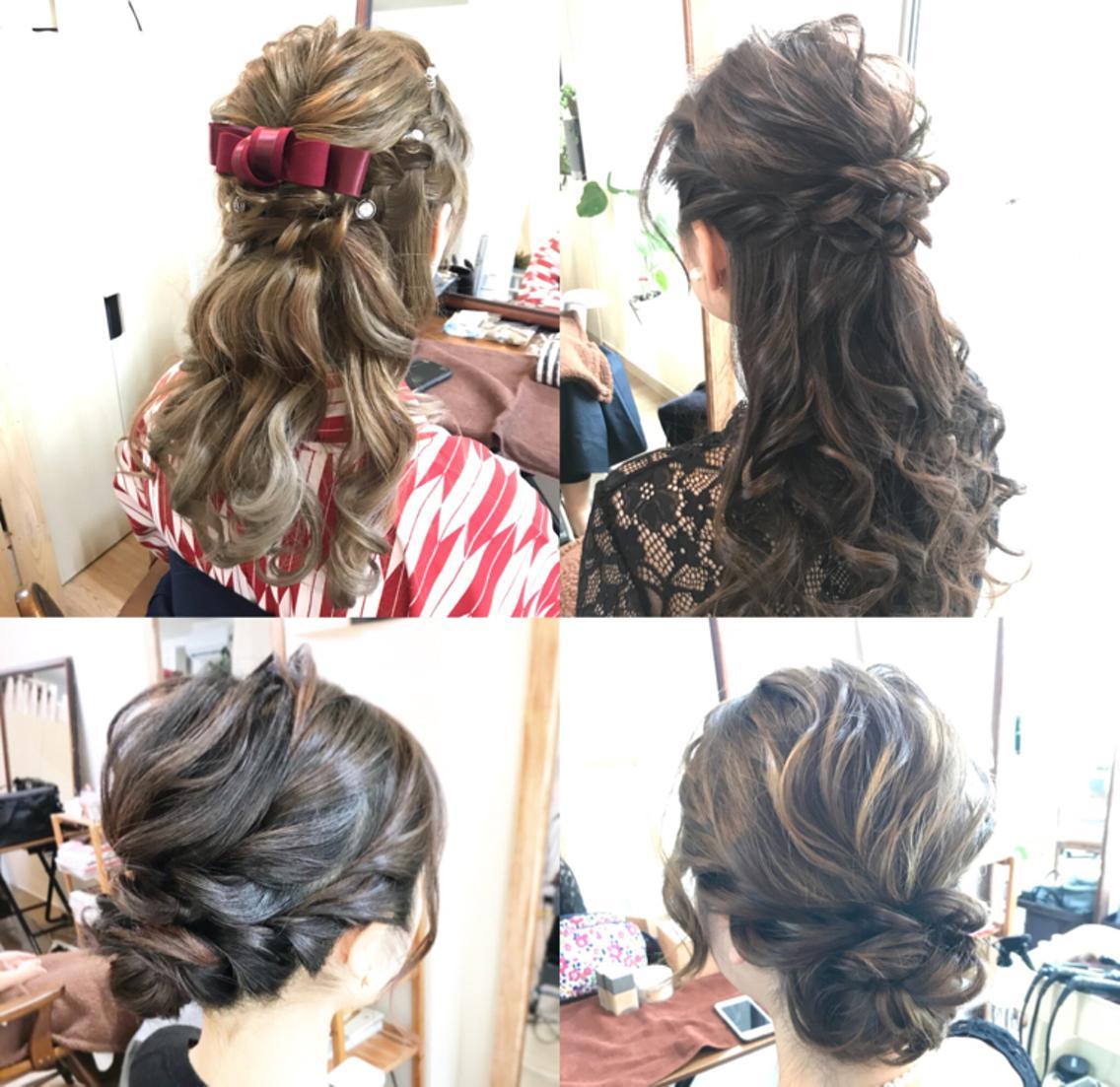 【卒業、入学式受け付中】芸能人やCM撮影のヘアメイク担当★大人可愛くグラデーションなどもお任せください★