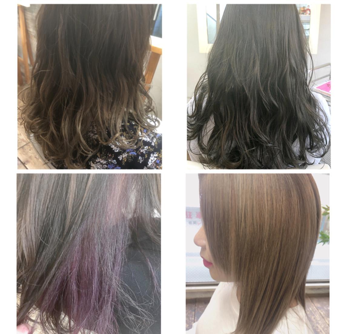 ✨平日お得に綺麗に✨マンツーマン対応で安心の技術を提供します✨一人ひとりに似合うa/wヘアお任せ下さい❄️どこから見ても綺麗な髪を実現させます❣️通い続けたくなる空間で是非お待ちしております✄✄