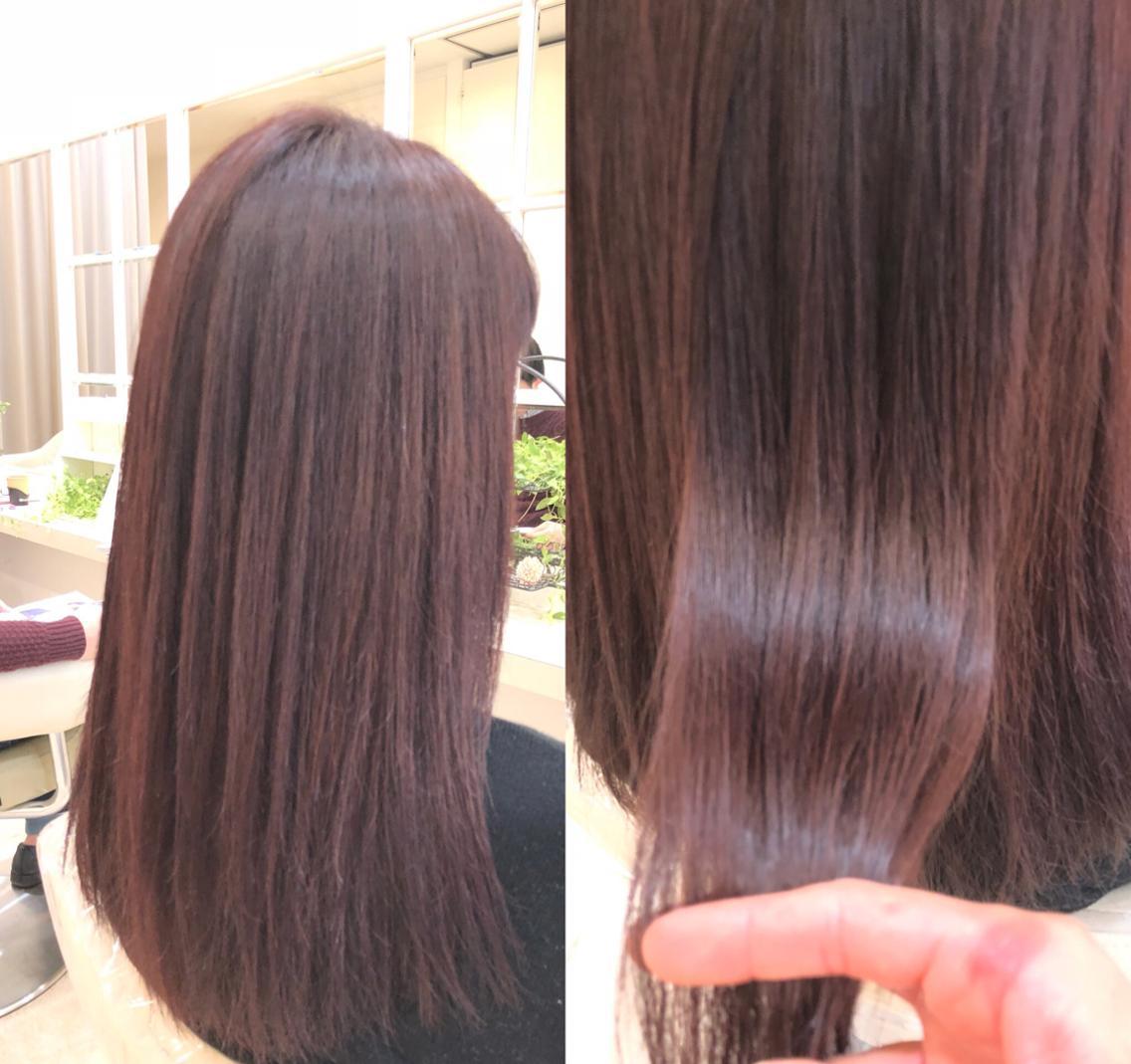 【当日予約OK☘店長担当☘】髪質改善⭕️縮毛矯正✅ すぐ予約⭕️トレンド取り入れ提案⭕️自由が丘徒歩1分☘