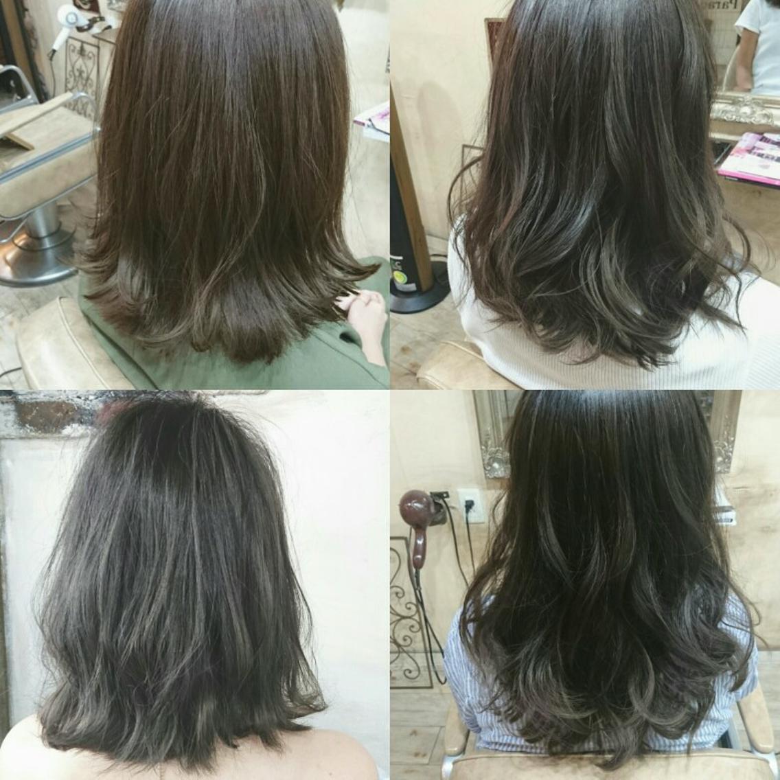 <10月末まで>minimo限定価格❣メニューあり♡大人気ブルージュカラーや秋色カラー♡透明感のある髪に♡