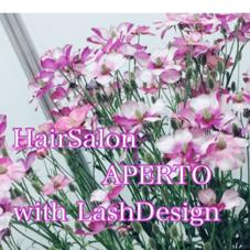 HairSalon APERTO with LashDesign所属の梶田あやか