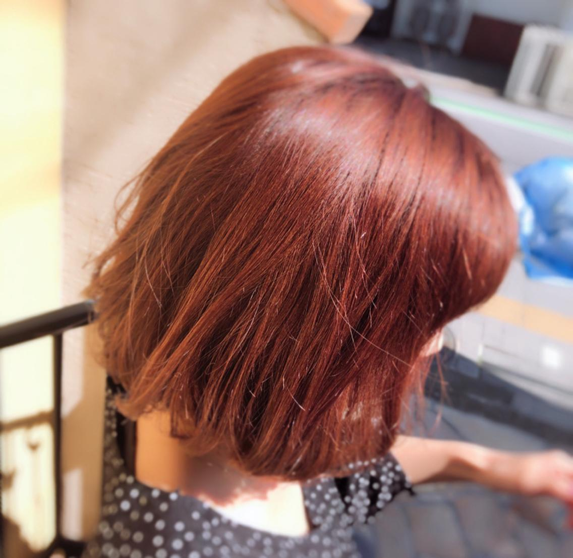 9月8日以降 カラー・縮毛矯正モデル募集