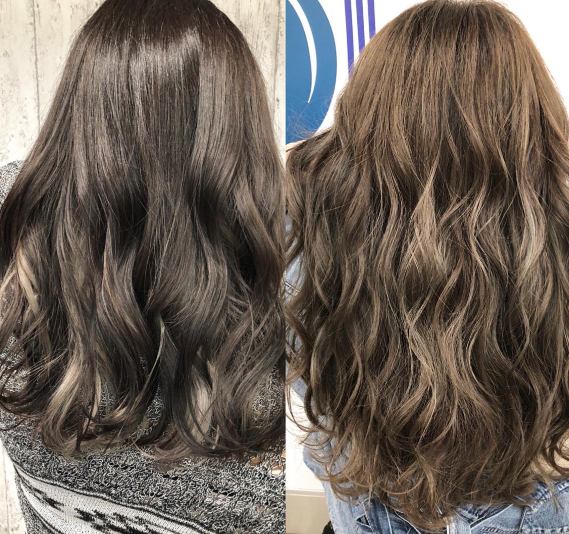 新しい縮毛矯正の薬剤を取り扱ってるので髪の毛が柔らかくナチュラルな仕上がりにできて相談により必要な箇所だけかけることも可能です‼️