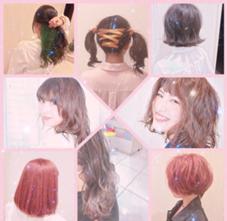 hair&beauty miq大山店所属のNATSUMI.