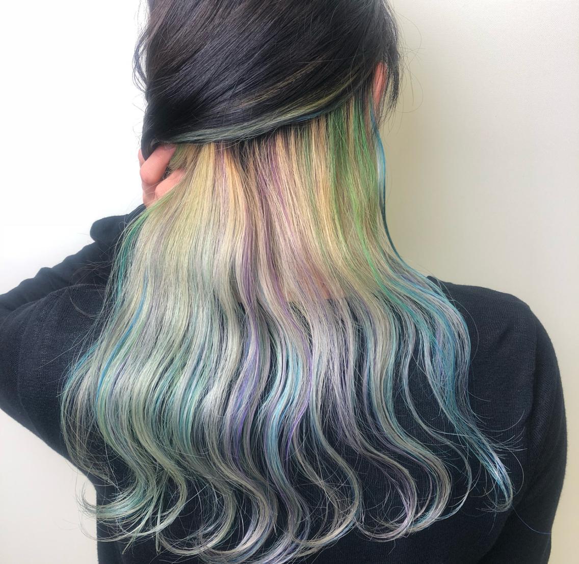 10代後半から20代のカラーが得意なお店♪♪髪質や雰囲気に合わせた綺麗な色出します!