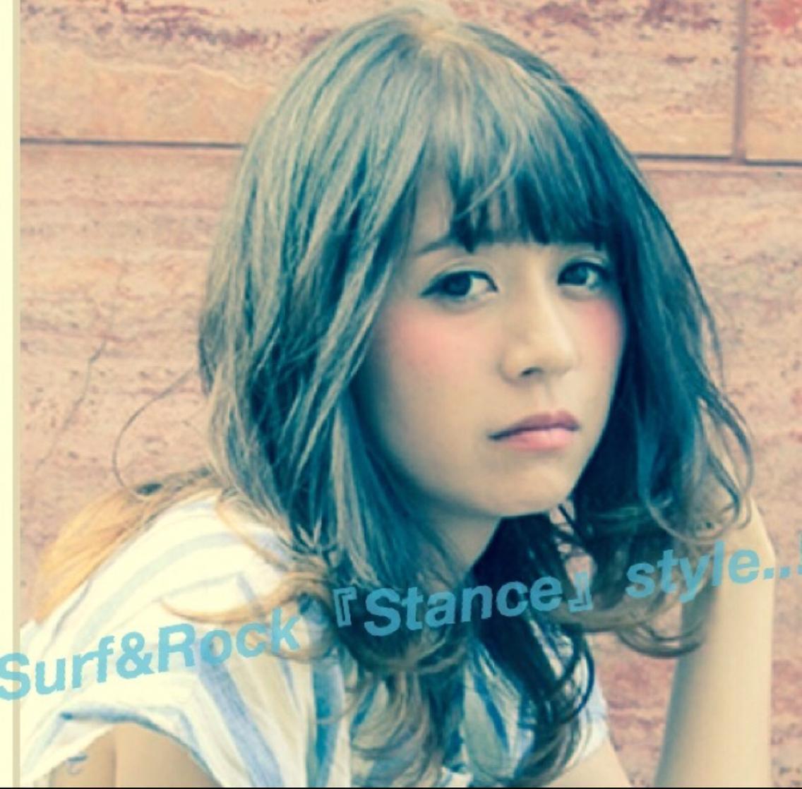 """福岡 博多 『surf&Rock』美容室 スタンス""""Stance"""""""