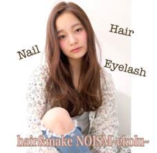 hair&make NOISM~ ekolu~所属の嶽沙央梨