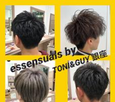 essensuals by TONI&GUY 銀座所属の平間響