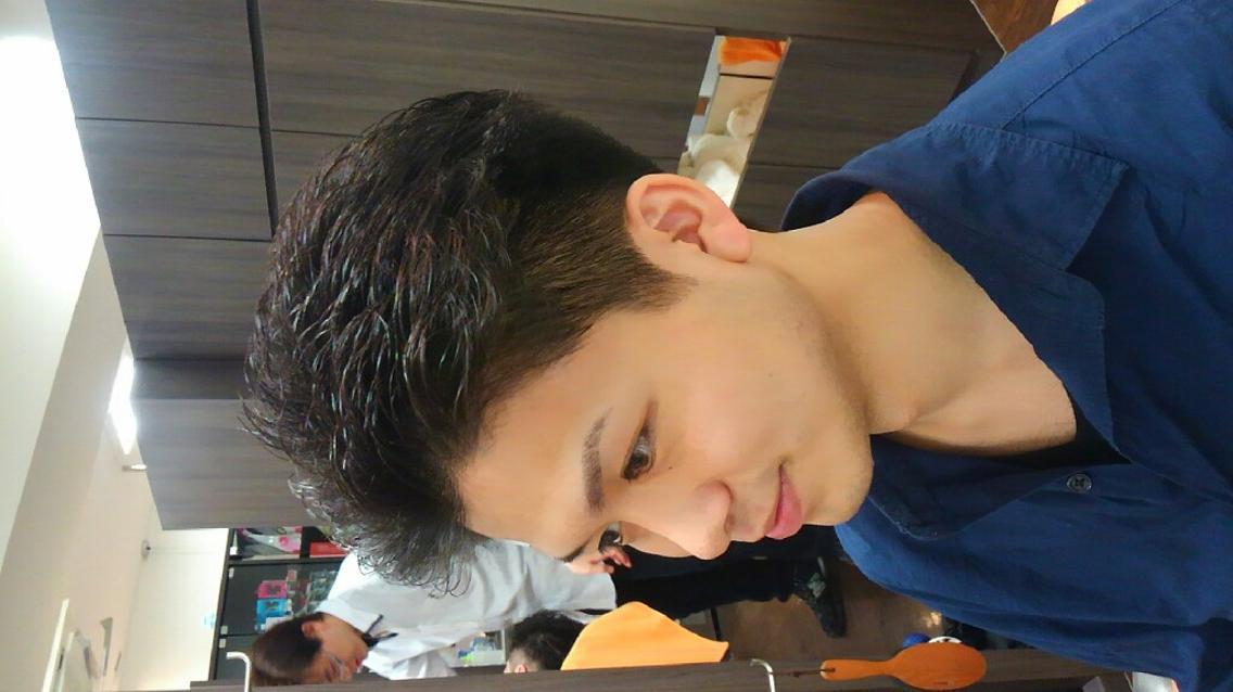メンズヘアカットモデル