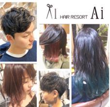 hair resort Ai 新宿店所属の齋藤saito