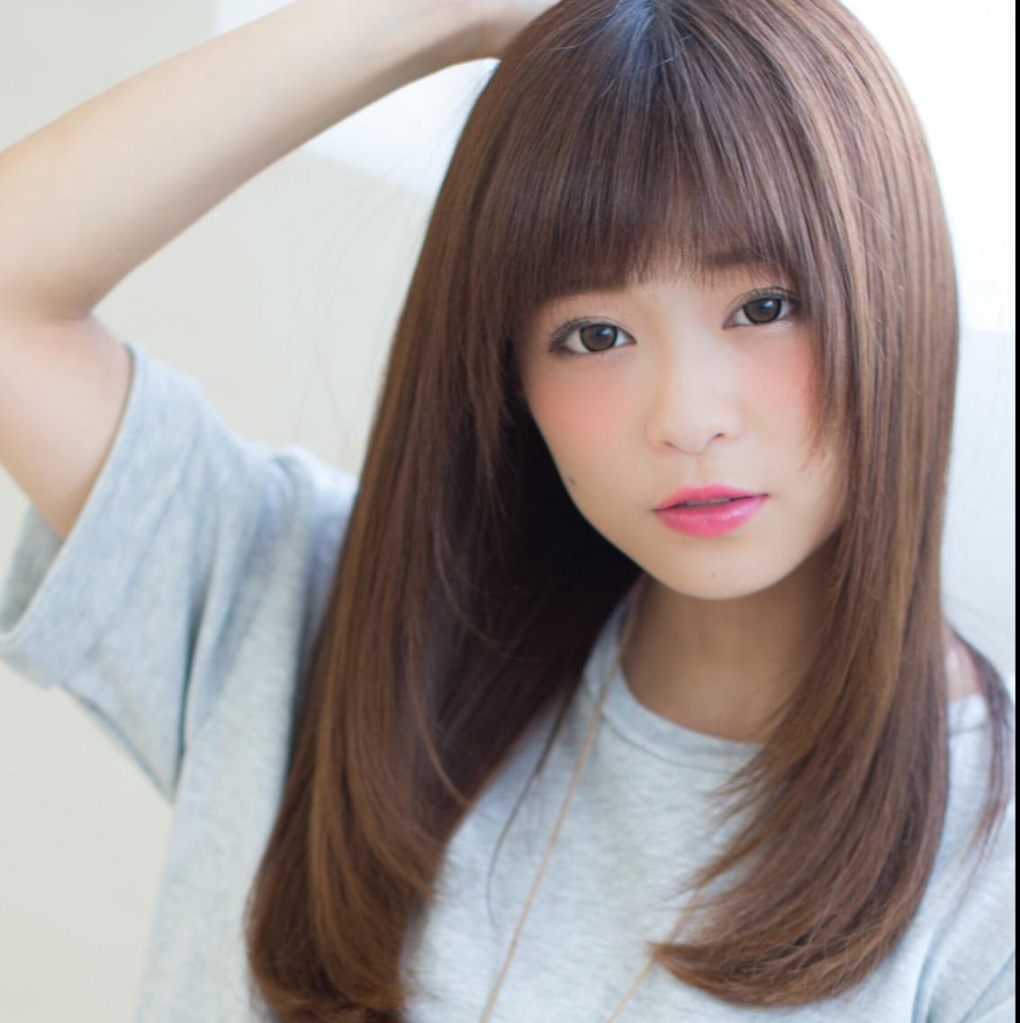 ★カット+オーガニック艶カラー+プレTR ¥7980