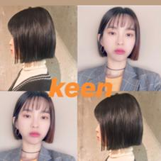 ◎keen◎ cut1650 ◎ color.perm 3600​〜​ ◎ モデルさん募集中です♡