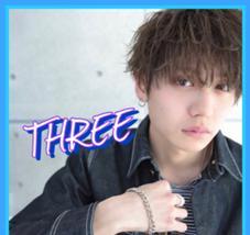 THREE所属のコンドウタカシ