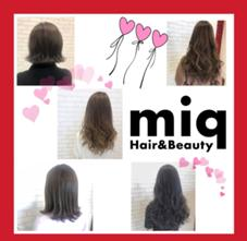 miq  hair&make所属の石橋野乃花