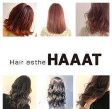 Hair esthe HAAAT所属のKOBAYUTA