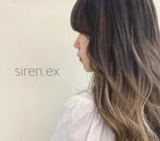 siren.ex所属の森岡志帆