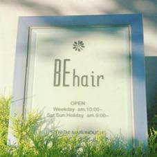 BE hair所属の瀧野亮