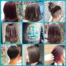 hair&make EARTH札幌駅前店所属の上田千晶