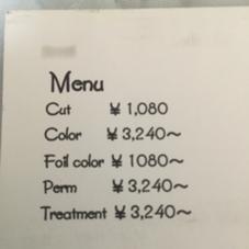 カット、カラー、パーマモデルさん募集しています。
