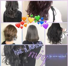 hair&make miq所属のナガサワミサキ
