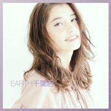 hair&make EARTH千葉店所属の竹内友梨