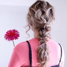 hair&make earth 西千葉店所属の椎名遥香