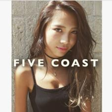 FIVE COAST所属のカラー支持No1FIVECOAST