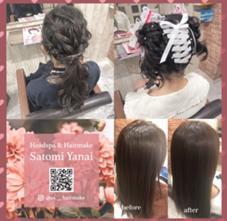 CHROM Hair Relaxation所属のYanaiSatomi