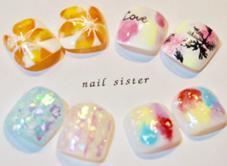 nail sister所属の上山瑞帆