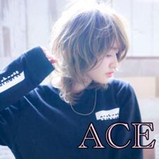 ❤️4月中限定50%off❤️当日予約大歓迎です!❤️エリアNo.1美容室【ACE】前髪パーマ+500円