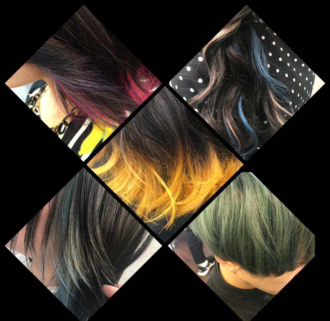 ⭕️2018注目ワード⭕️【モーヴ】【透明感】【ダーク】【暗髪】⭐︎派手髪→繊細なお色に時代は変わってます♪