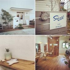 浜松市東区半田山にあるカリフォルニアスタイルの美容室 ★SoLCA★